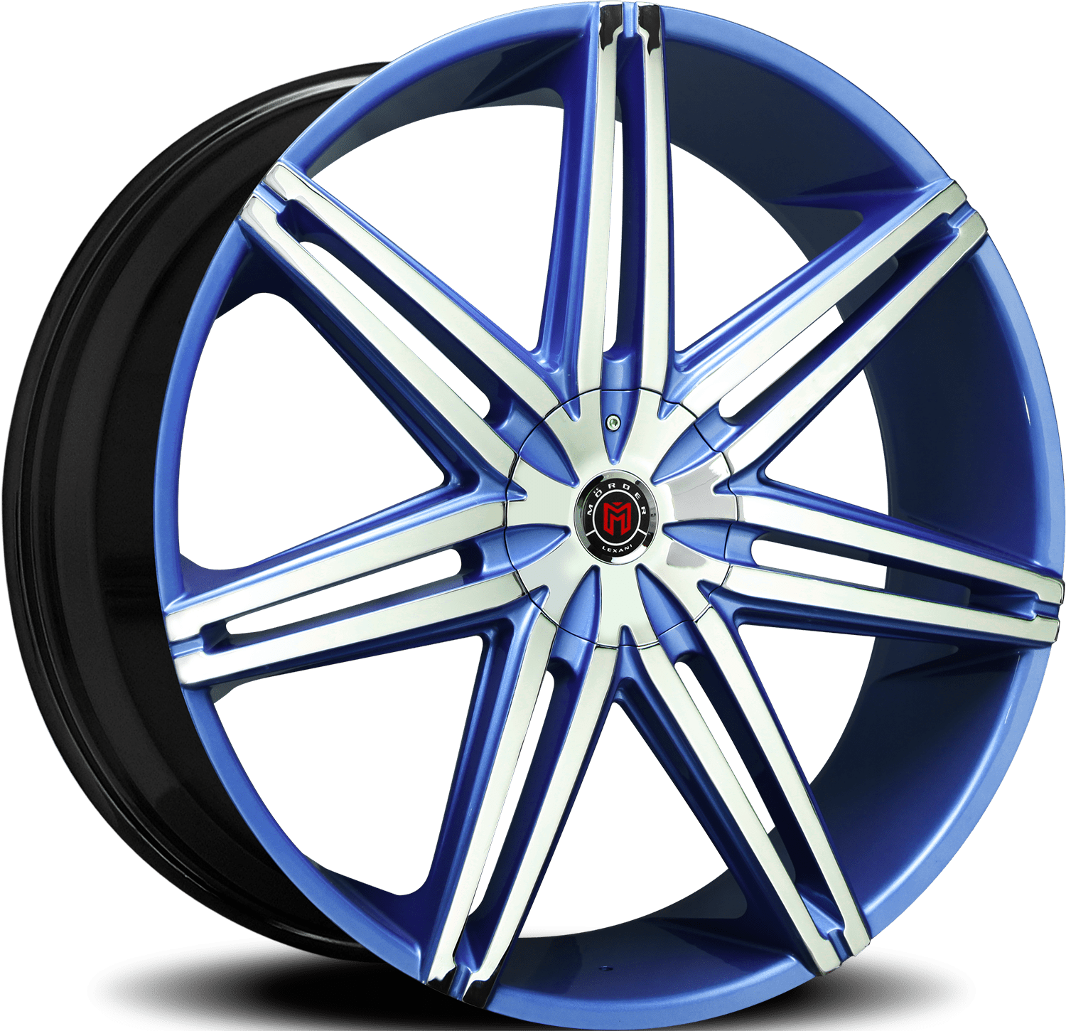 Morder Wheels MS-648 Chrome Blue
