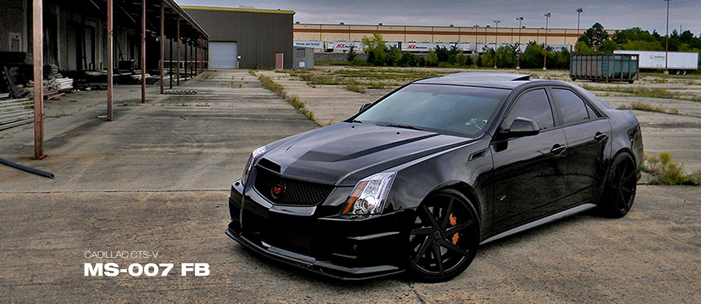 Cadillac CTS-V MS-007 FB
