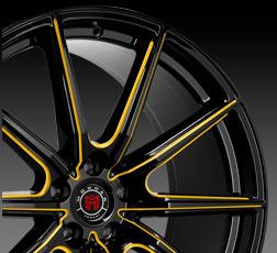 Custom Painted Wheel